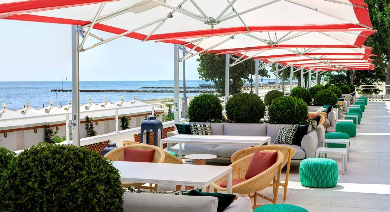 Views over Venice Lido, Hotel Excelsior Venice Lido Resort