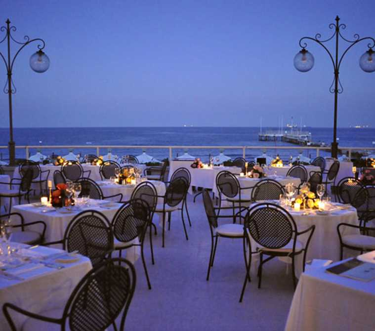 Ristorante Gourmet di Lusso a Lido di Venezia | Hotel Excelsior